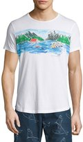 Orlebar Brown Canoe Canoodle Tailored-Fit Crewneck T-Shirt, White