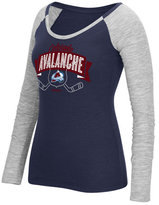 Reebok Women's Long-Sleeve Colorado Avalanche Approval T-Shirt