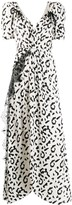 Self-Portrait Self Portrait leopard print long dress