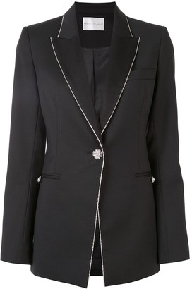 Rebecca Vallance Starwood crystal-embellished blazer
