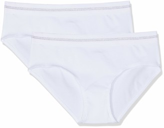 Schiesser Girls' Long Life Cotton 2Pack Panties