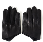 Robert Geller Leather Gloves