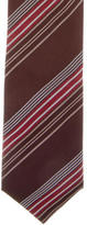 Prada Striped Silk Tie