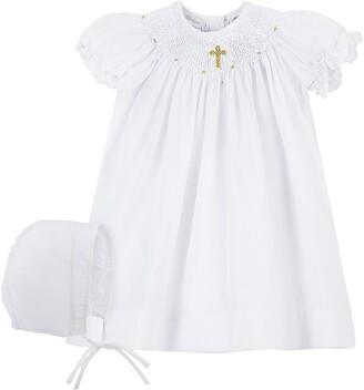 Carriage Boutique Christening Gown & Bonnet Set