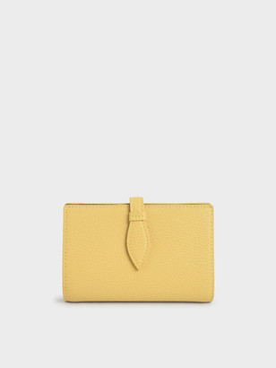 Charles & Keith Snap Button Fold Wallet