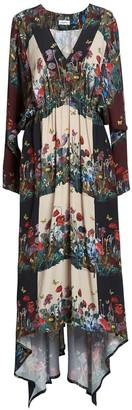 AILANTO Clovers Trailing Dress