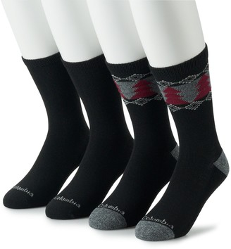 Columbia Men's Tree Performance 4pk. Crew Socks