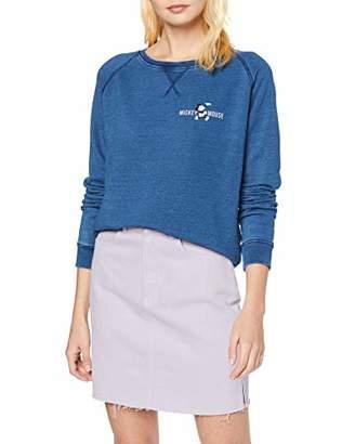 Disney Women's Mickey Arch Sweatshirt,(Size:Medium)