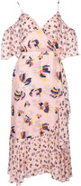 Tanya Taylor Abstract Floral Dress