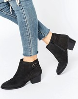 Oasis Sally Strap Short Boot Nubuck