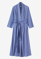 Toast Stripe Dobby Gown