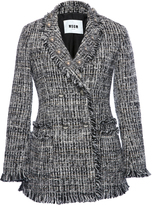 MSGM Multicolor Tweed Jacket