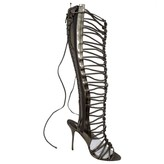 Sophia Webster Silver Leather Boots