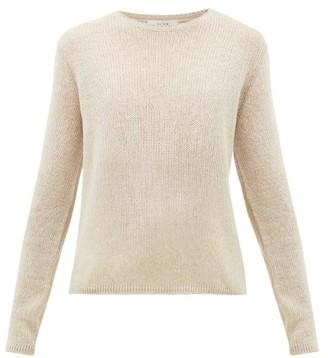 The Row Imani Striped Cashmere Sweater - Beige