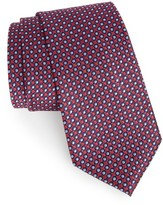 Nordstrom Men's Double Dot Geometric Silk Tie