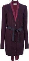 belted cardigan