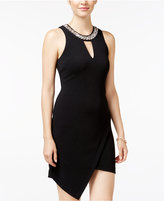 As U Wish Juniors' Asymmetrical Bodycon Dress
