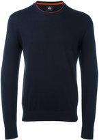 Paul Smith contrast round neck jumper - men - Cotton - L