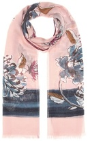 Loro Piana Hanami cashmere and silk scarf