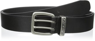 Dickies Men's Big and Tall Leather Classic Casual Belt