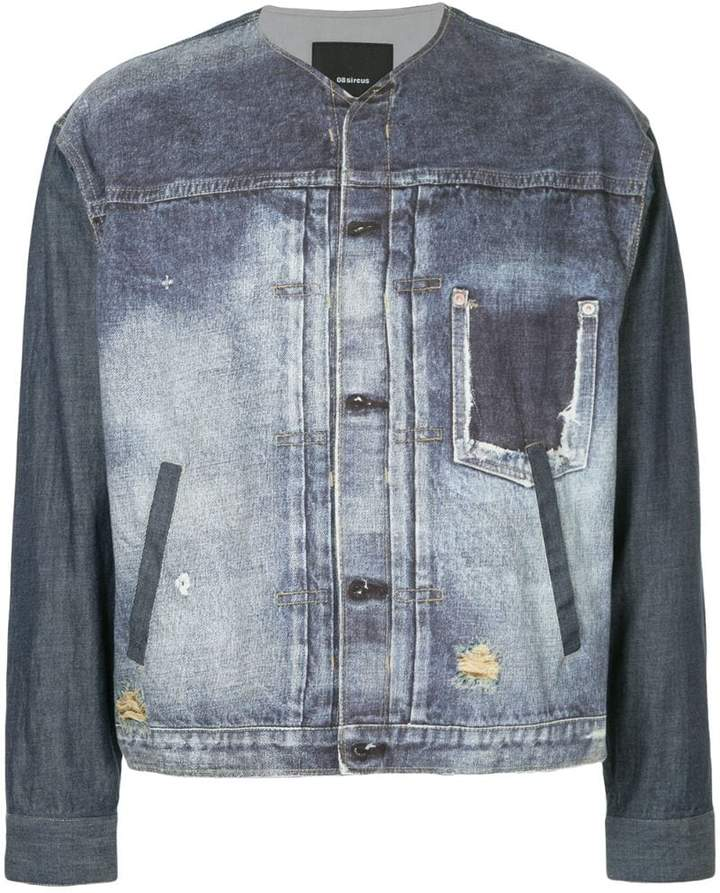 08sircus distressed denim jacket
