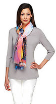 Collection XIIX As Is Collection 18 Eiffel Tower Digitially Printed Scarf