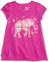 Epic Threads Elephant Graphic-Print T-Shirt, Big Girls (7-16), Only at Macy's