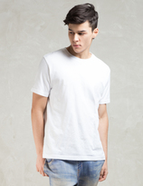 Phenomenon White S/S Paisley Print T-Shirt