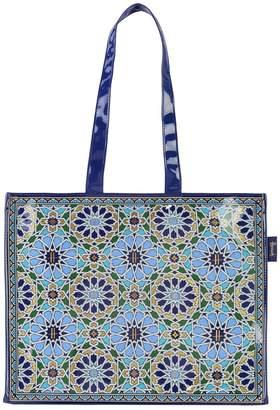 Harrods Mosaic Shoulder Shopper Bag