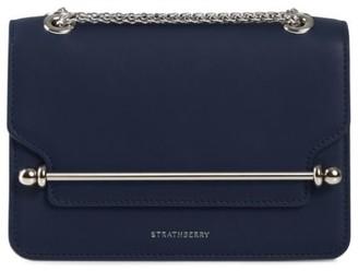 Strathberry Mini East/West Leather Shoulder Bag