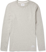 Norse Projects - Niels Mélange Cotton-jersey T-shirt