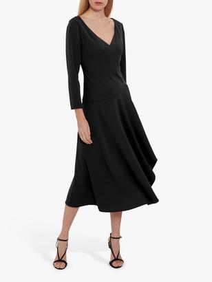 Gina Bacconi Eletra Moss Crepe Dress