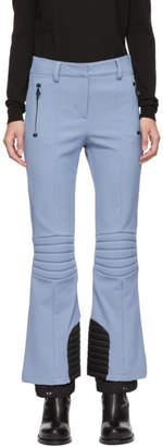 Moncler Blue Padded Ski Lounge Pants