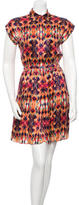 ICB Silk Printed Dress
