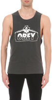 Obey Diablo Cotton-jersey Vest