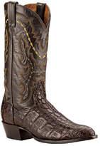 Dan Post Men's Boots Genuine Flank Caiman - Chocolate Boots
