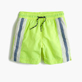 J.Crew Boys' striped swim trunk