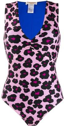 La DoubleJ leopard print swimsuit