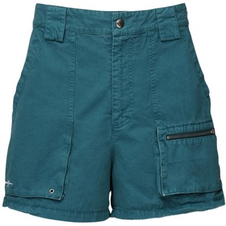 Phipps Dyed Cotton Canvas Shorts