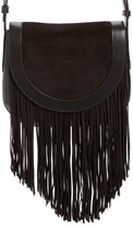 Frye 'Ray' Fringe Leather Saddle Bag