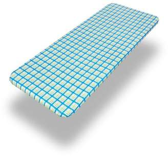 """Carnation Home Fashions Country Check"""" 48"""" x 72"""" Fitted Vinyl Tablecloth"""