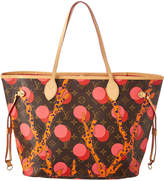 Louis Vuitton Limited Edition Pink Ramages Monogram Canvas Neverfull Mm