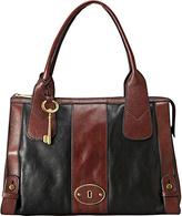 Fossil Vintage Reissue Top Zip Satchel