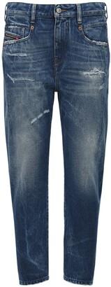 Diesel Fayza Boyfriend Cotton Denim Jeans