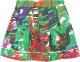 Marni Printed poplin skirt