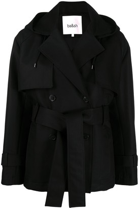 BA&SH Mystere double-breasted jacket