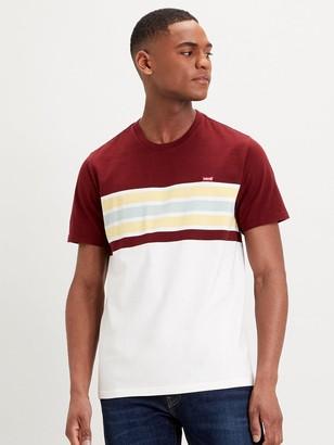 Levi's Stripe Detail T-shirt - Multi