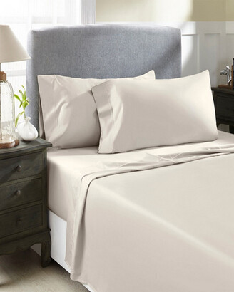 Perthshire Platinum Collection 800Tc Solid Sateen 4Pc Sheet Set