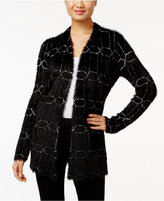 Alfani Eyelash Cardigan, Only at Macy's