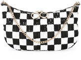 Nina Ricci sequin bag - women - Leather/PVC - One Size